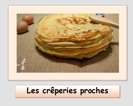 Les creperies proches