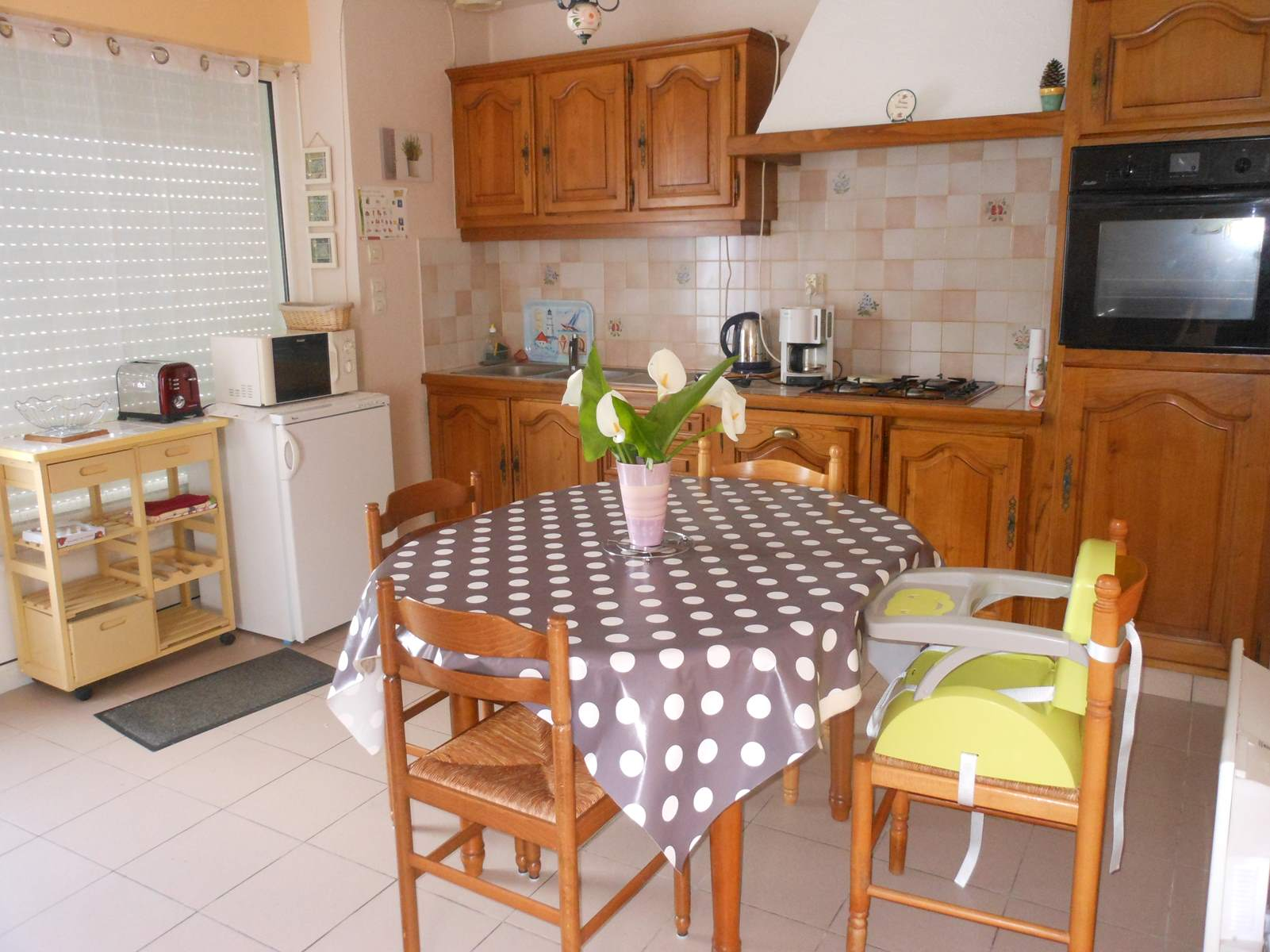 la table de la cuisine