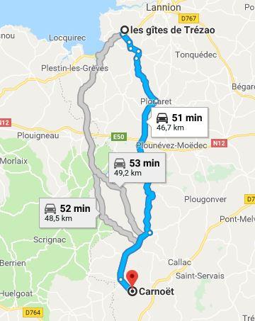 Itineraire la vallee des saints