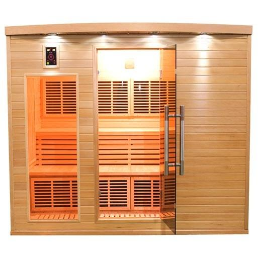 Sauna infrarouge apollon 5 places sn apollon 7
