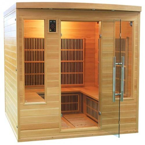 Sauna infrarouge apollon club 4 a 5 places